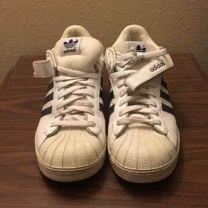 VINTAGE Classic White Mid-Top Adidas